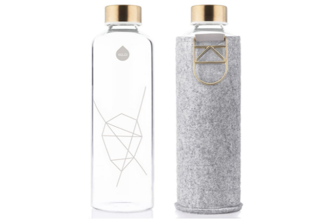 Equa Best Glass Water Bottle