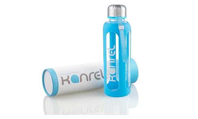 Kanrel Best Glass Water Bottle