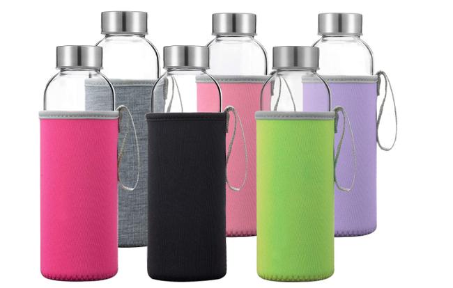 Otis Best Glass Water Bottles