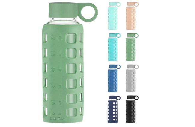Purifyou Best Glass Water Bottle