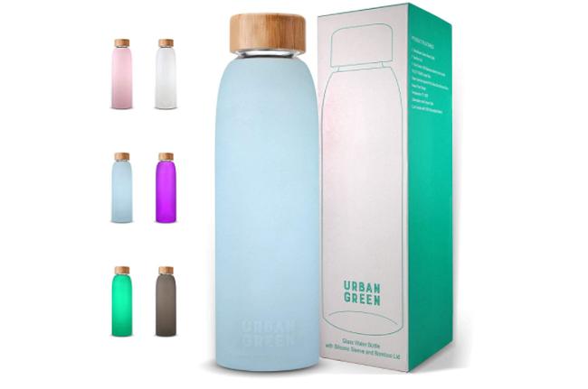 Urban Green Best Glass Water Bottle
