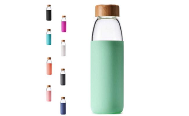 Veegoal Best Glass Water Bottle