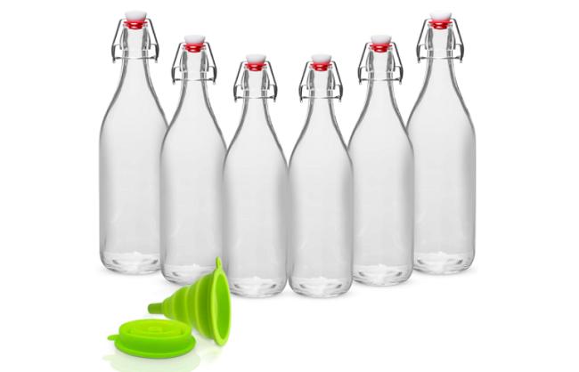 WILLDAN Best Glass Water Bottle